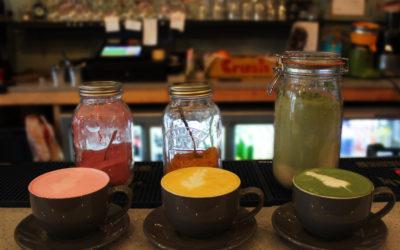 Healthy Rainbow Lattes