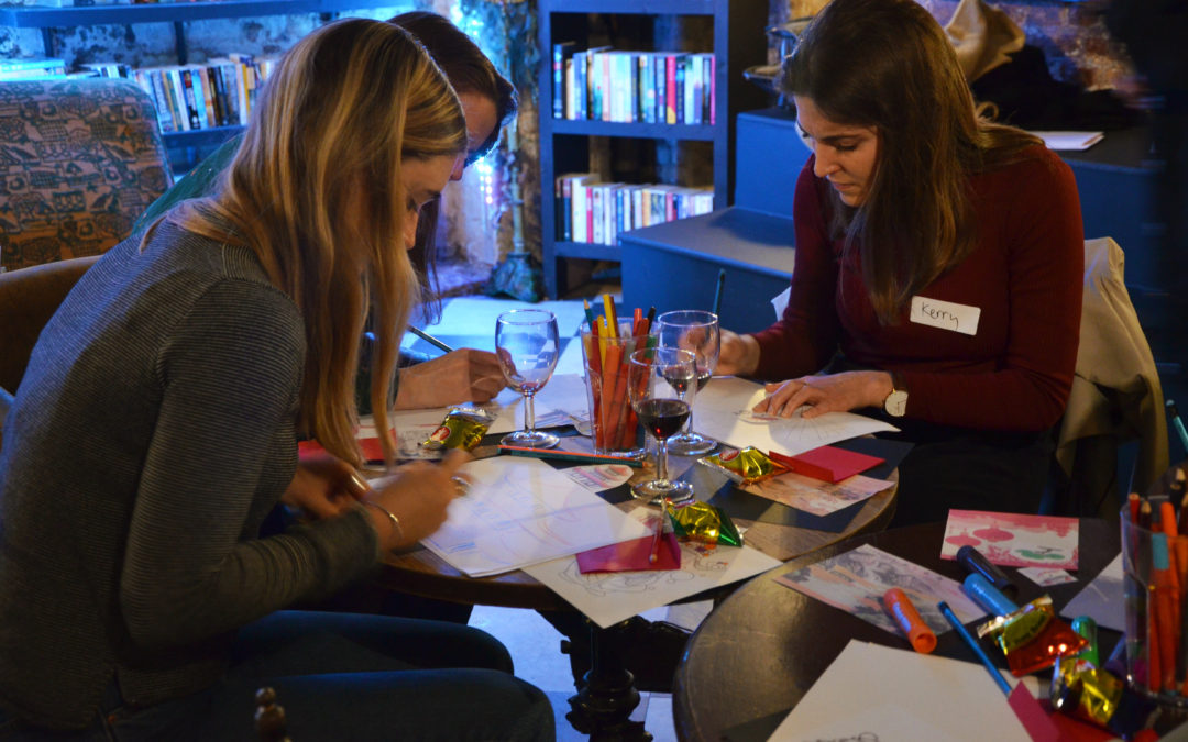 Drink and Draw – An exciting new way to spend your free time