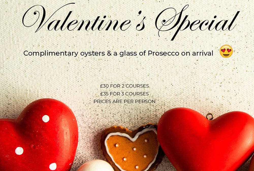 Valentines Day Booking