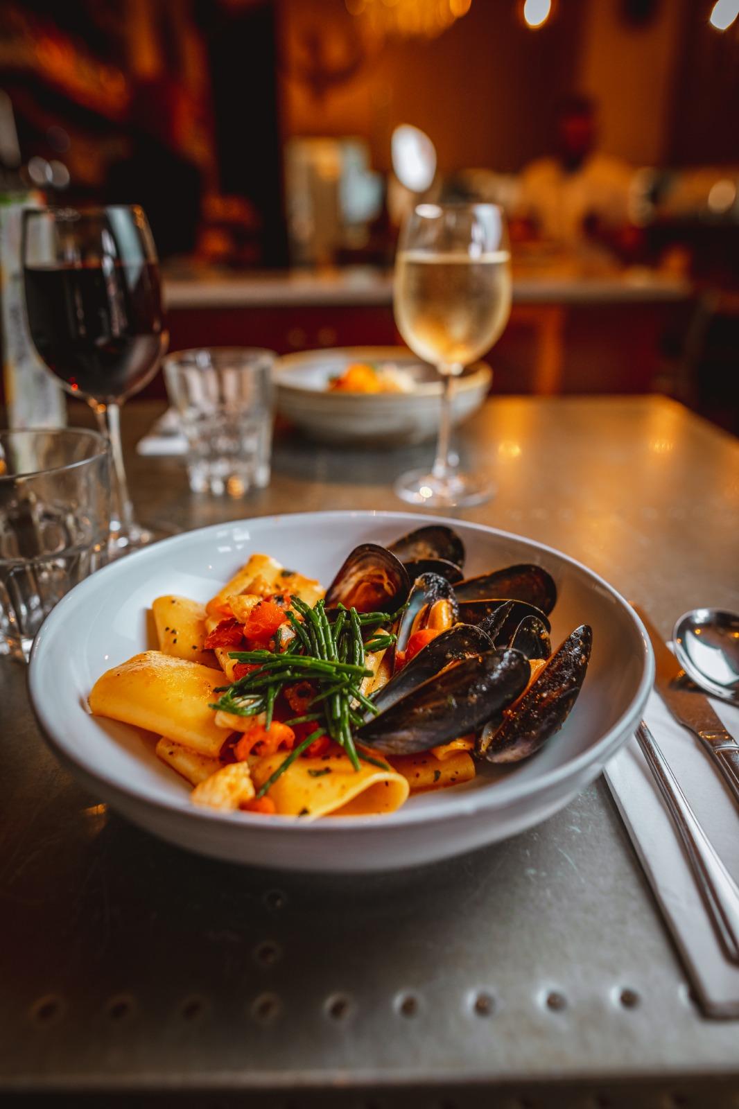 italian restaurant shoreditch